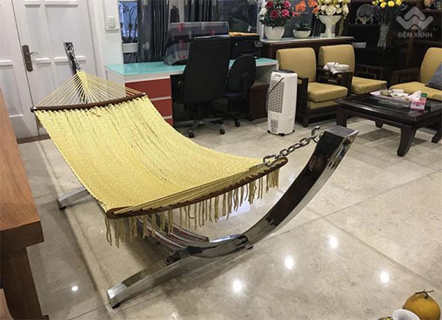 Võng xếp Tín Thành Phát bán nguyệt cotton